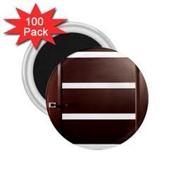 Minimalis Brown Door 2 25  Magnets (100 Pack)