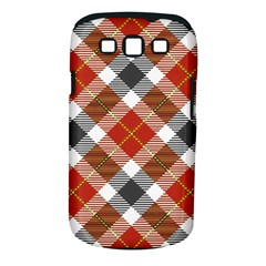 Smart Plaid Warm Colors Samsung Galaxy S Iii Classic Hardshell Case (pc+silicone) by ImpressiveMoments