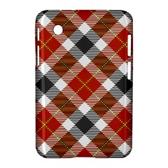 Smart Plaid Warm Colors Samsung Galaxy Tab 2 (7 ) P3100 Hardshell Case  by ImpressiveMoments