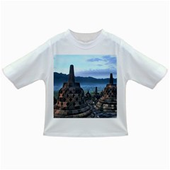 Borobudur Temple  Morning Serenade Infant/toddler T Shirts by Samandel