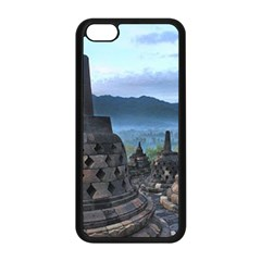 Borobudur Temple  Morning Serenade Apple Iphone 5c Seamless Case (black)