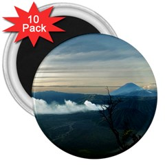 Bromo Caldera De Tenegger  Indonesia 3  Magnets (10 Pack)