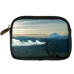 Bromo Caldera De Tenegger  Indonesia Digital Camera Leather Case by Samandel