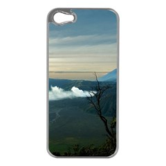 Bromo Caldera De Tenegger  Indonesia Apple Iphone 5 Case (silver)