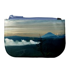 Bromo Caldera De Tenegger  Indonesia Large Coin Purse