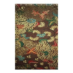 Colorful The Beautiful Of Art Indonesian Batik Pattern Shower Curtain 48  X 72  (small)