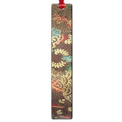 Colorful The Beautiful Of Art Indonesian Batik Pattern Large Book Marks by Samandel