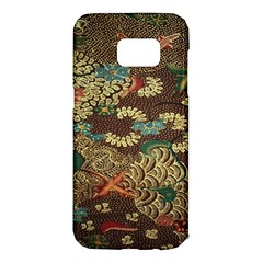 Colorful The Beautiful Of Art Indonesian Batik Pattern Samsung Galaxy S7 Edge Hardshell Case