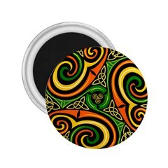 Celtic Celts Circle Color Colors 2 25  Magnets by Samandel