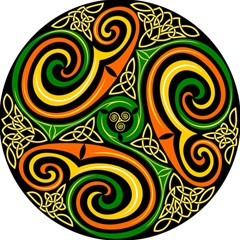 Celtic Celts Circle Color Colors Magic Photo Cube