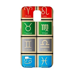 Set Of The Twelve Signs Of The Zodiac Astrology Birth Symbols Samsung Galaxy S5 Hardshell Case