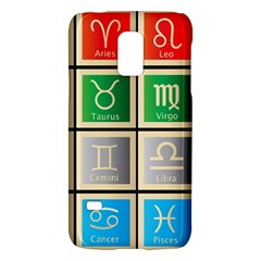 Set Of The Twelve Signs Of The Zodiac Astrology Birth Symbols Samsung Galaxy S5 Mini Hardshell Case  by Samandel