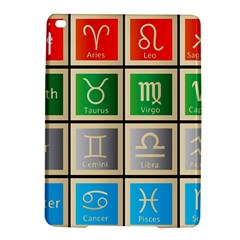 Set Of The Twelve Signs Of The Zodiac Astrology Birth Symbols Ipad Air 2 Hardshell Cases by Samandel