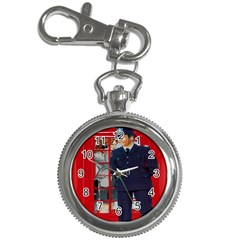 Red London Phone Boxes Key Chain Watches