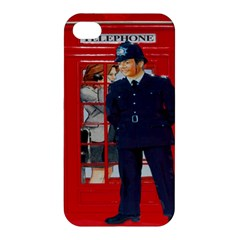 Red London Phone Boxes Apple Iphone 4/4s Hardshell Case