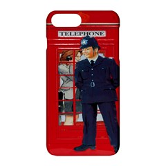 Red London Phone Boxes Apple Iphone 8 Plus Hardshell Case