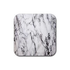 Marble Granite Pattern And Texture Rubber Square Coaster (4 Pack)  by Samandel