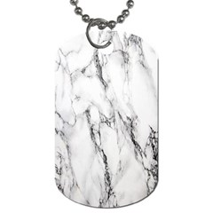 Marble Granite Pattern And Texture Dog Tag (one Side)