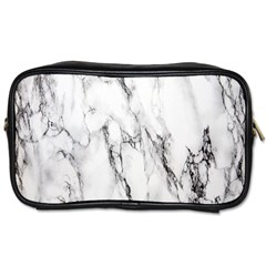 Marble Granite Pattern And Texture Toiletries Bag (two Sides) by Samandel