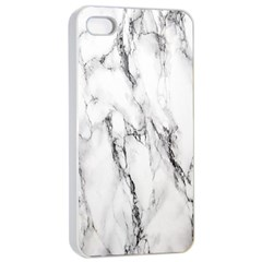 Marble Granite Pattern And Texture Apple Iphone 4/4s Seamless Case (white) by Samandel