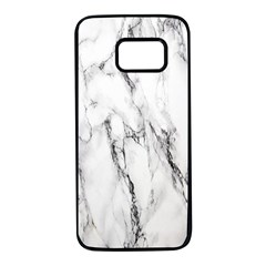 Marble Granite Pattern And Texture Samsung Galaxy S7 Black Seamless Case