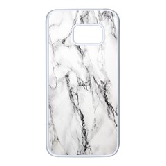 Marble Granite Pattern And Texture Samsung Galaxy S7 White Seamless Case