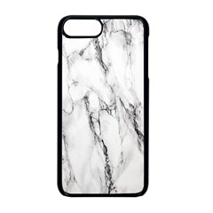 Marble Granite Pattern And Texture Apple Iphone 8 Plus Seamless Case (black)