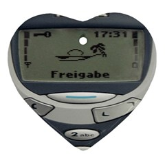 Nokia 3310 Classic Ornament (heart) by Samandel