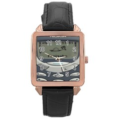 Nokia 3310 Classic Rose Gold Leather Watch  by Samandel