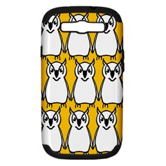 Yellow Owl Background Samsung Galaxy S Iii Hardshell Case (pc+silicone)