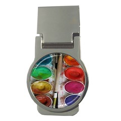 Paint Box Money Clips (round)