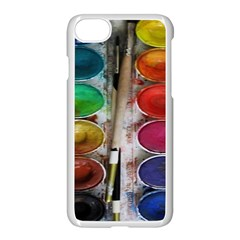 Paint Box Apple Iphone 8 Seamless Case (white)