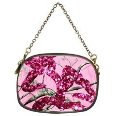 Love Browning Deer Glitter Chain Purse (one Side)