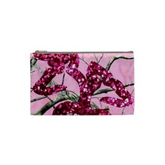 Love Browning Deer Glitter Cosmetic Bag (small)