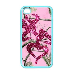 Love Browning Deer Glitter Apple Iphone 4 Case (color)
