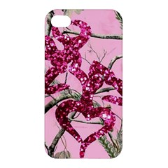 Love Browning Deer Glitter Apple Iphone 4/4s Hardshell Case by Samandel