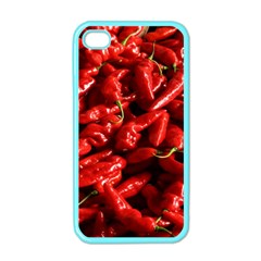 Red Chili Apple Iphone 4 Case (color)