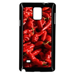 Red Chili Samsung Galaxy Note 4 Case (black)