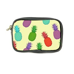 Colorful Pineapples Wallpaper Background Coin Purse by Samandel
