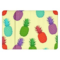 Colorful Pineapples Wallpaper Background Samsung Galaxy Tab 8 9  P7300 Flip Case