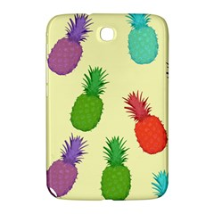 Colorful Pineapples Wallpaper Background Samsung Galaxy Note 8 0 N5100 Hardshell Case  by Samandel