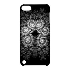 Fractal Filigree Lace Vintage Apple Ipod Touch 5 Hardshell Case With Stand