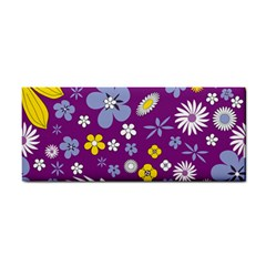 Floral Flowers Hand Towel