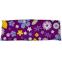 Floral Flowers Body Pillow Case Dakimakura (two Sides)
