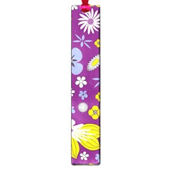 Floral Flowers Large Book Marks