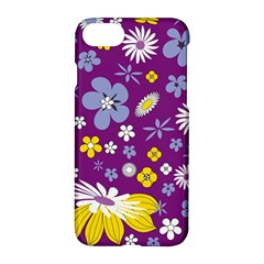 Floral Flowers Apple Iphone 7 Hardshell Case