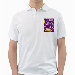 Floral Flowers Golf Shirt