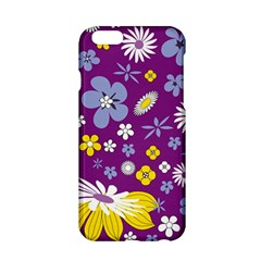 Floral Flowers Apple Iphone 6/6s Hardshell Case by Samandel