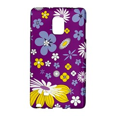 Floral Flowers Samsung Galaxy Note Edge Hardshell Case