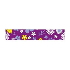 Floral Flowers Flano Scarf (mini)
